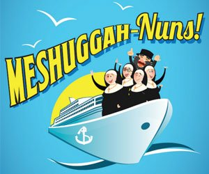 Meshuggah-Nuns Show Logo