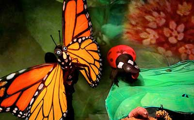 Plaza Theatrical's presents Hudson Vagabond Puppets' Butterfly: The Story of a Life Cycle