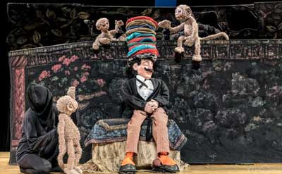 Plaza Theatricals presents Hudson Vagabond Puppets' Caps for Sale / Three Billy Goats Gruff