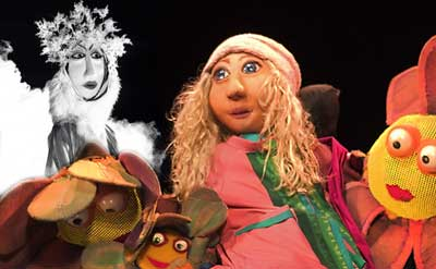 Plaza Theatricals presents Hudson Vagabond Puppets' The Snow Queen
