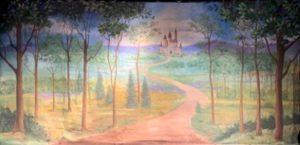 "150 Fairy Tale Forest w/ Castle 28'-0"" X 14'-0"""