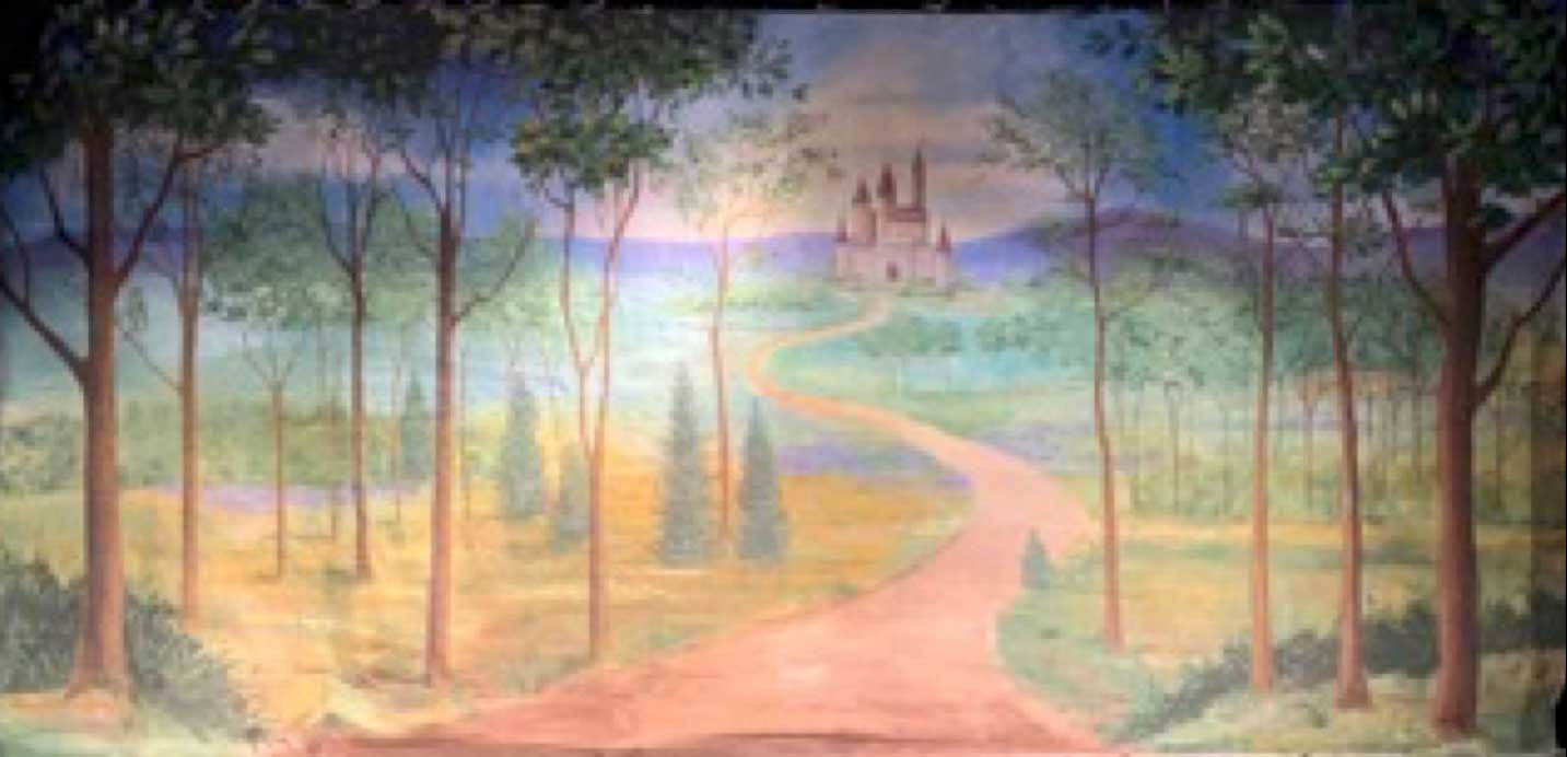 "150 Fairy Tale Forest w/ Castle 28'-0"" X 14'-0"""