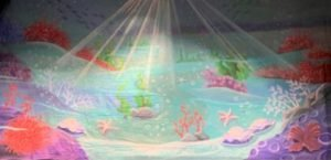 "151 Little Mermaid (Under the Sea) 28'-0"" X 14'-0"""