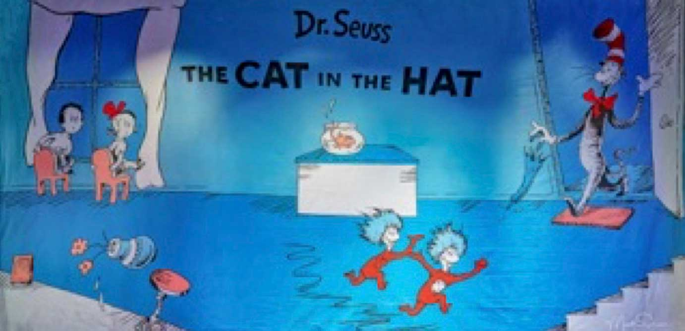 "153 The Cat in the Hat 28'-0"" X 14'-0"""