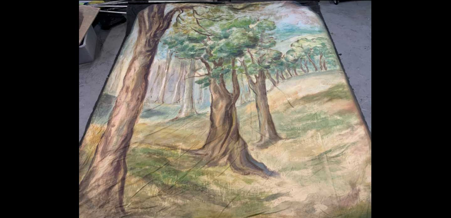"542 FOREST TAB (Stage Right) 8'-0"" X 9'-0"""