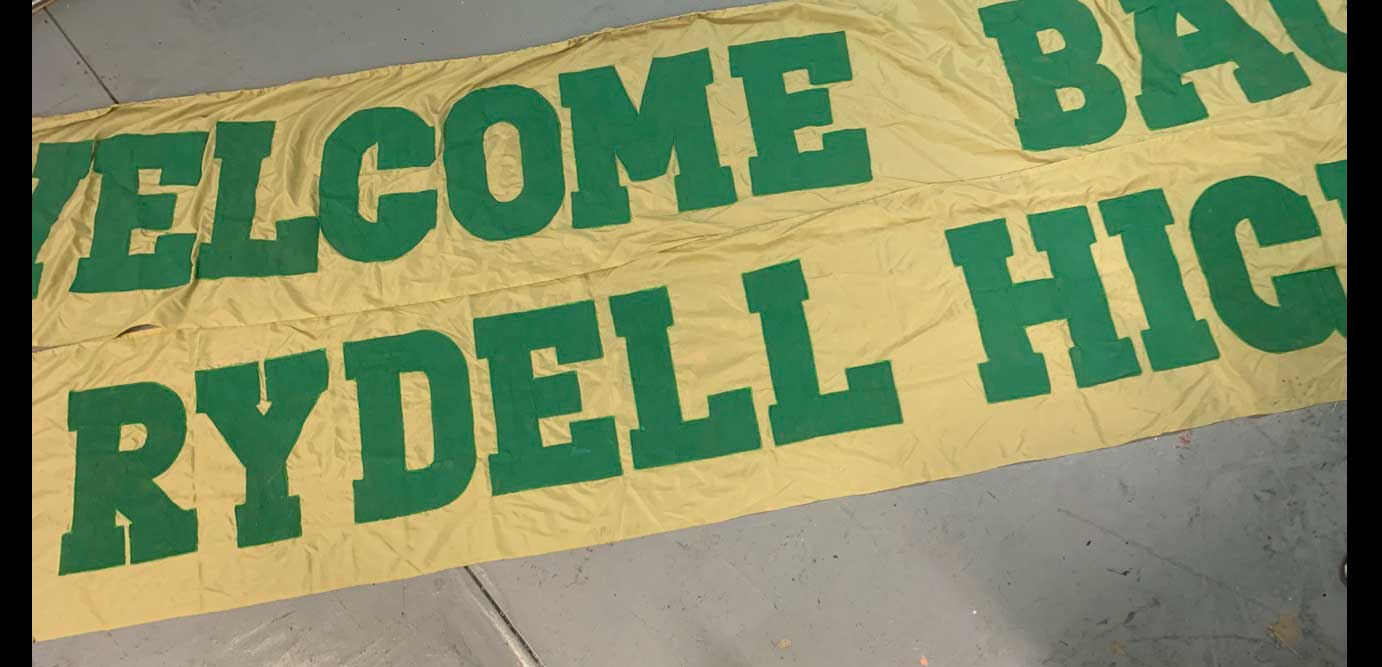 "543 WELCOME BACK RYDLL HIGH BANNER (2 SECTIONS 2'-6"" X 17"" (EACH SECTION)"