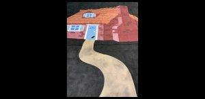 Cartoon House (Exterior) 3 Little Pigs 12 x 16