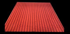 Red Stripes 98x104 Show Backdrop