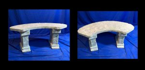 785-curved-marble-bench